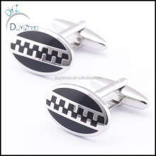 Factory price boys zipper cufflinks for mens shirt