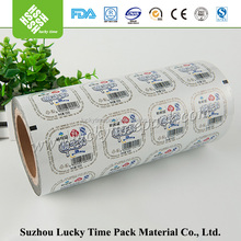 Plastic Cup Easy Peel Sealing Roll Film For Jelly / Chocolate PP Cup
