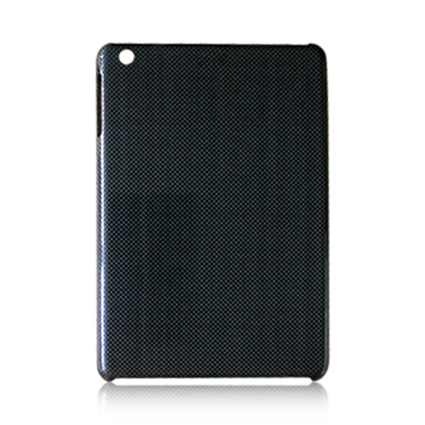 3k twill weave mobile phone case carbon fiber material phone shell smooth back cover for iPad mini