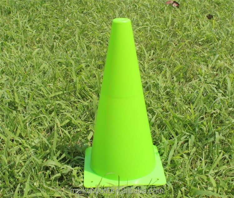 Factory OEM outdoor soccer training good stability plastic sports training marker cones