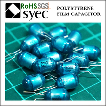 Tight Tolerances Radial Lead 103J 100V Polystyrene Film Capacitor