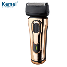Kemei KM868 Double Headed Electric Hair Cutting Razors Reciprocating Shaver Both Rechargeable and Battery Powered