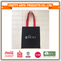 one piece canvas shopping bag