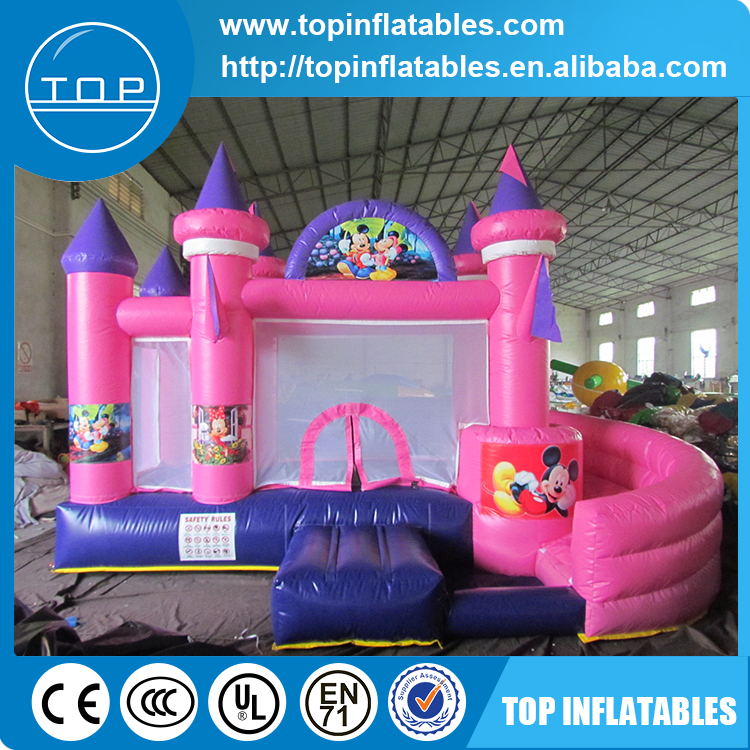 inflatable bounce house/Inflatable bouncer slide combo/inflatable bouncer with slide