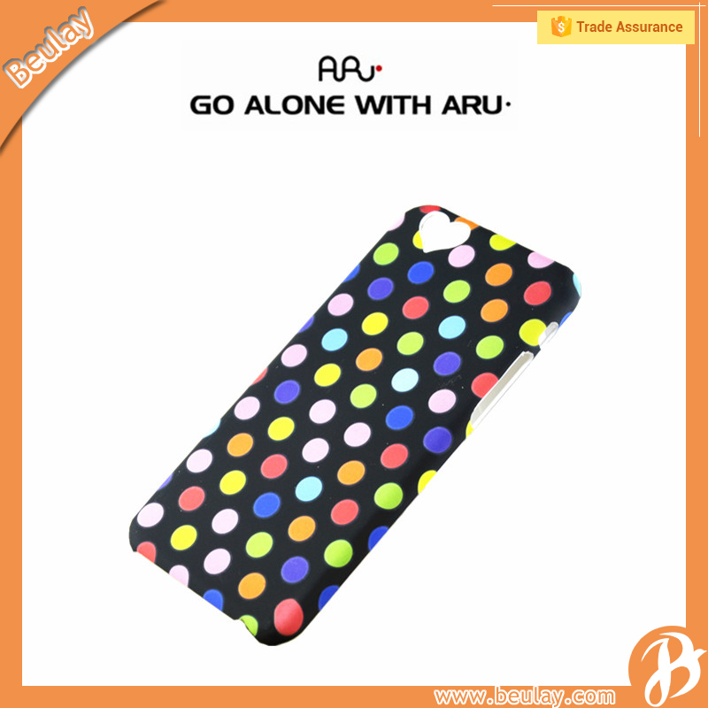 Aru Hard Polka Dot light up phone case for samsung galaxy s4 custom phone covers