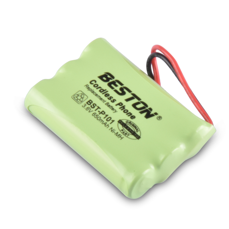 Beston Universal High performance <strong>P101</strong> 3.6V 650mAh Ni-MH AAA rechargeable battery pack for cell phone