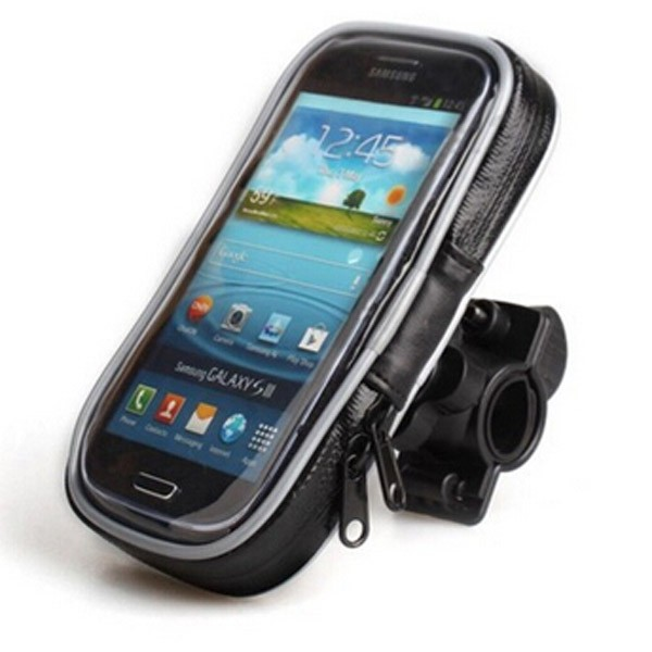 Hot selling hands free 360 degree rotating waterproof bike phone holder for iphone 5