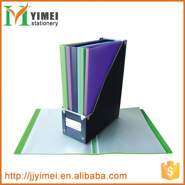 Hot promotion custom design clear display book with pockets with good price