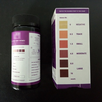 Visual Ketone Testing Strips - Test if You're in Ketosis