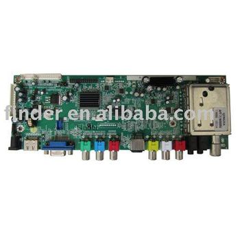 "LCD TV Control Board Support 14"" to 32"" Dual/Single LVDS LCD Panel"