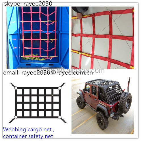 Jeep Jk Wrangler Roof Net/ Cargo Net/ Wraparound Net/ 4Door Net/ 2Door Net, correas red de carga