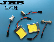 High Quality Led Car Dome Light Cob 24SMD With Frame Reading Light T10 Festoon Dome 12V 24V DC