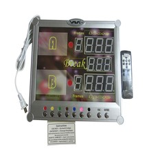 Best seller electronic snooker scoreboard digital billiard scoreboard with wireless control