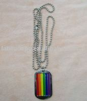 Colorful Dog Tag