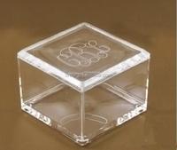 clear acrylic favor box