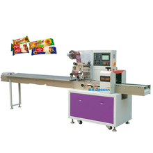 Pillow type plastic bag bread halawa packing machine price