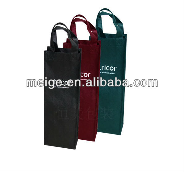 Promotional wine bag/new design wine bag/shoes and bags to match in wine