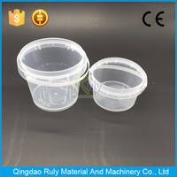 Gold Supplier China 500ml Clear/Transparent Plastic Bucket