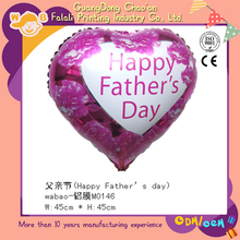 Wholesale china nice design 18 inch happy father day balloon for party decoration