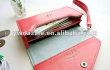 Fashion mobile phone case for nokia n8 with card holder wallet