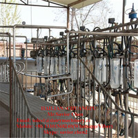 Glass Bottle Goat Milking Machine For Sale , Milking Parlor For Goat Milking