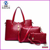 Wholesale New Products Handbag Set Bag Fashion Korean Style Women Purse Pu Leather lady Bag Sets 3 in 1 From China