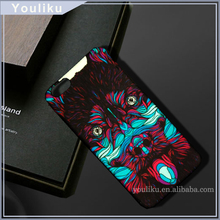 Night light up back cover case for lenovo vibe c a2020, multi colors pc hard case for lenovo s850 / a5500 mobile phone cover