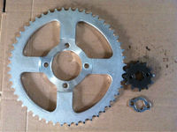 Supra sprocket 428-104/ 40T/15T motorcycle sprocket for indonesia