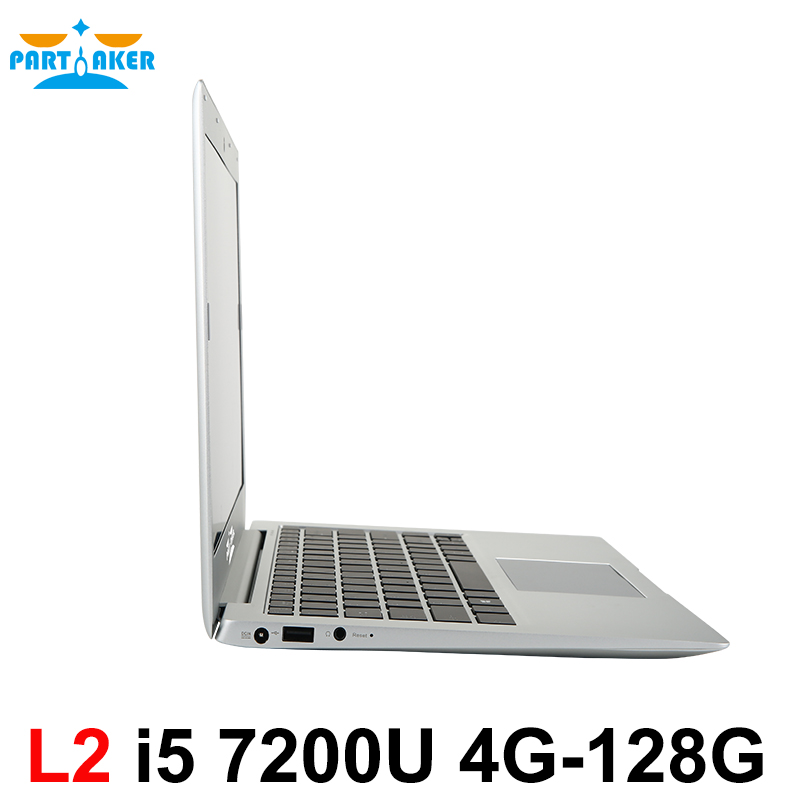 Win10 Laptop Computer Notebook PC with 13.3 Inch Core I5 7200U DDR4 Memory M.2 SSD Partaker <strong>L2</strong>