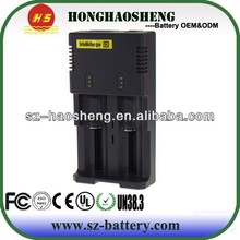 I2 battery charger to recharge 2 batteries
