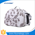 Soft Polyester Pet Carrier Bag With Travel Foldable Bag Function