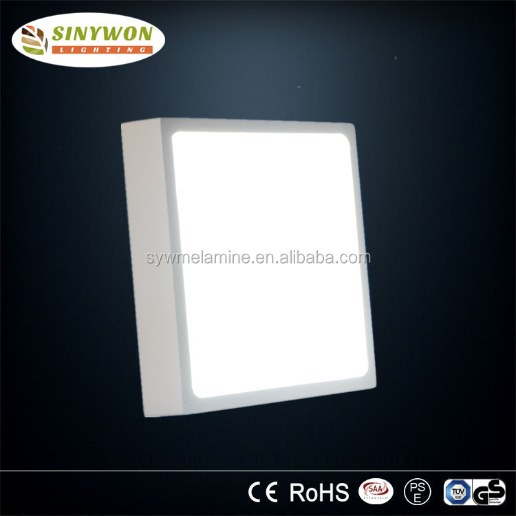 Surface Mounted 12 watt LED Square Panel Light with Internal or External Driver