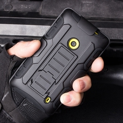 Future Armor Impact Holster Hyrbrid Hard Case cover for Nokia Lumia 520