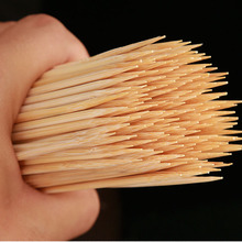 Wholesale Disposable 18 Round bamboo skewers/safety barbecue bamboo stricks