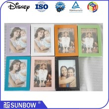 Narrow profile Quality PS(Polystyrene) photo frame, with Gold or Silver Line, Nice looking
