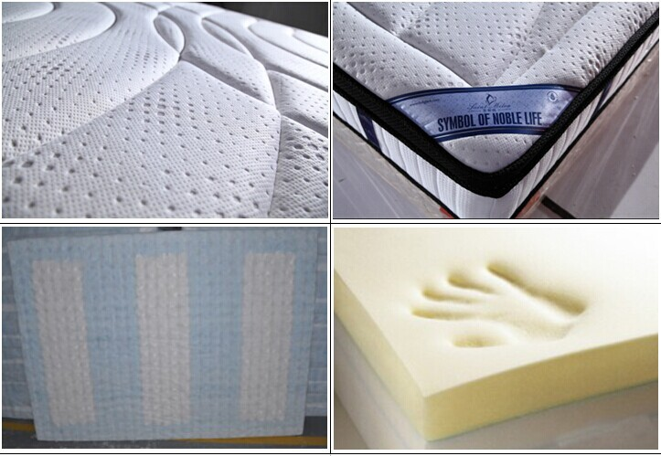 king size memory foam pocket spring mattress