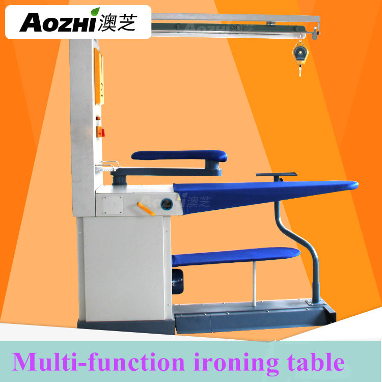 Aozhi Multi-function purpose Ironing Table with spotting table and steam ironer