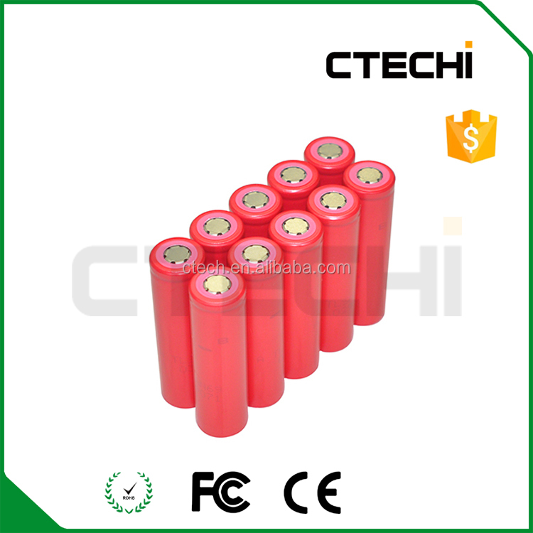 Original branded 18650 cells UR18650AA 2250mAh Li-ion rechargeable battery