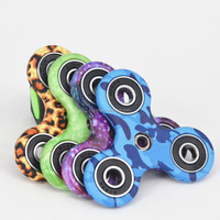 Factory anti stress hand spinner toy 608 hybrid Ceramic Bearing anti anxiety desk toy tri spinner fidget spinner