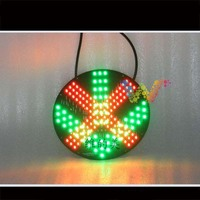 Hot selling 200mm red cross green arrow light module led traffic light