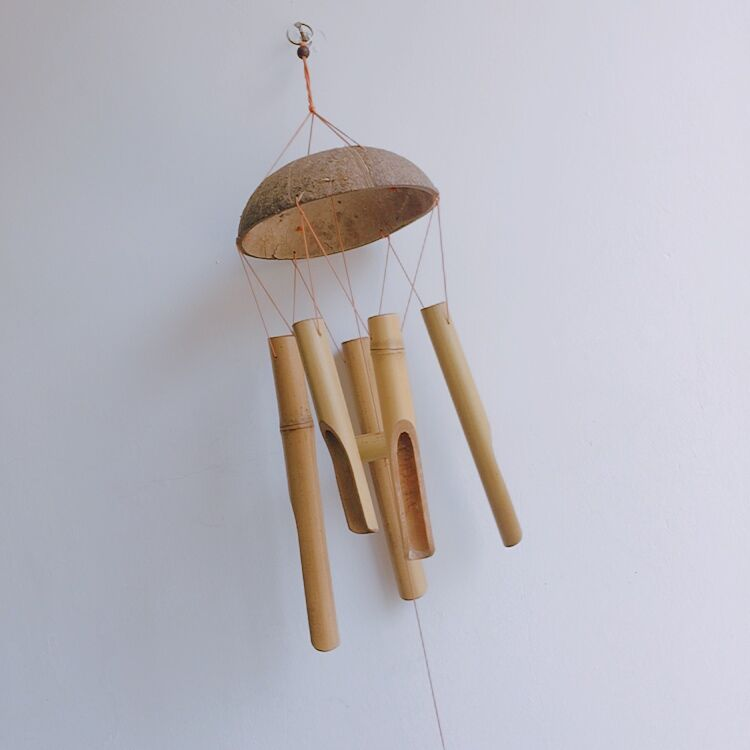 Folk crafts DIY <strong>Bamboo</strong> Wind Chimes
