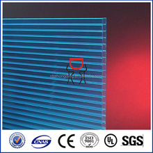 uv coating 6mm hollow polycarbonate sheet