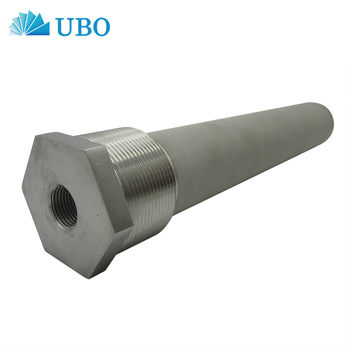 Stainless Steel Sintered Hex Nipple Sparger Element
