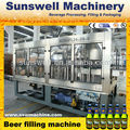 beer bottler capper production line