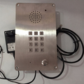 robust  intercoms KNTECH Analogue/IP/VOIP version optional Emergency Telephone durability prison help telephone