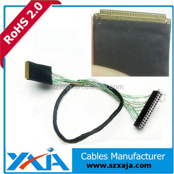 Laptop screen ribbon cable lvds lan extension cable