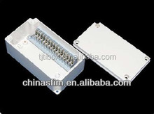 TIBOX Junction Box/Kit Din Rail/terminal block 25mm/Earth and Neutral Connector Kit
