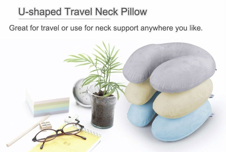 High Quality China Manufacturer Chair Car Cervical Massage Memory Foam Neck Pillow