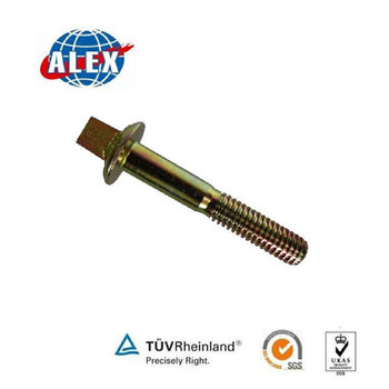 Square Head Screw Spike for BS100A steel rail