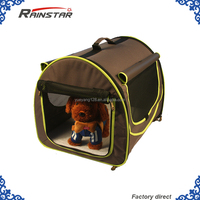 Luxury wholesale Portable Pet Soft Dog Cat Cage/ foldable pet soft carrier